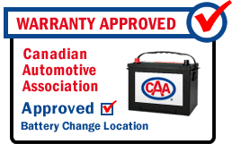 warranty approved oil change service